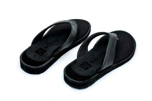 MEDLIFE Men's Diabetic Footwear - Black (8, Black)
