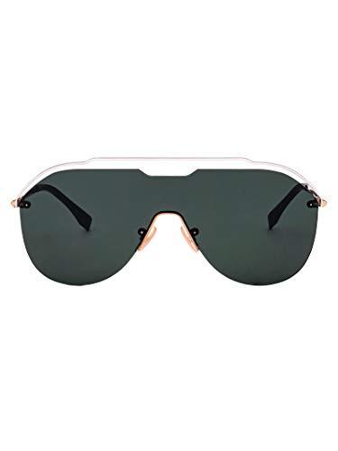 Fendi Herren Ffm0030sj5gqt Gold Metall Sonnenbrille