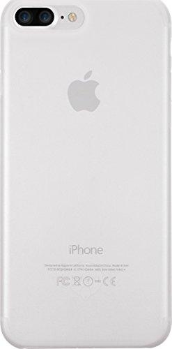 Ozaki O!Coat 0.4 Jelly Slim Schutzhülle für Apple iPhone 7 Plus / 8 Plus - transparent [0.4mm dünn | 4g leicht | Extrem passgenau | Transparent] - OC746TR