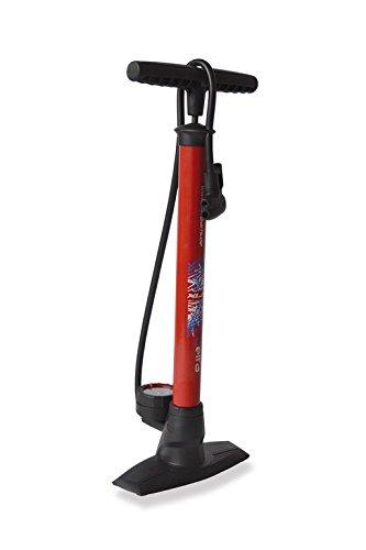 XLC Luftpumpe und Standpumpe Delta PU-S04 rot, 22x3x3cm -