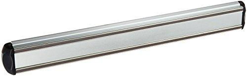 Estilo magnétique en aluminium Barre de couteau, 35,6 cm, Argent