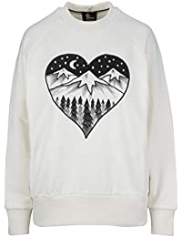 MONCLER Femme 805065080426034 Blanc Coton Sweatshirt 91d09f4409c