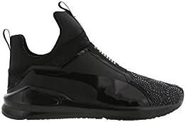 puma scarpe alte nere