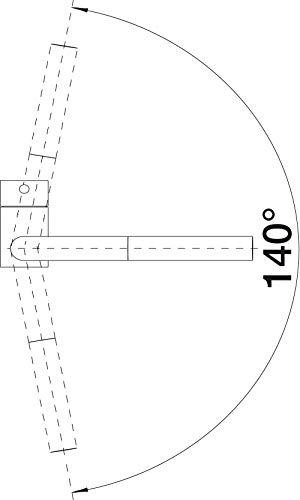 BLANCO Linus-S Küchenarmatur chrom – 512402 - 6