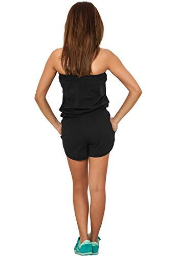 Urban Classics Damen Jumpsuit kurz black - 3