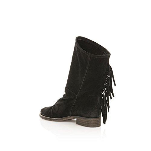 Mtng 93929 Serraje Negro, Bottes femme noir (SERRAJE NEGRO)
