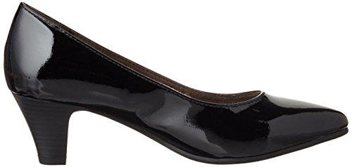 Softline 22466, Scarpe con Tacco Donna Nero (Black Patent 018)