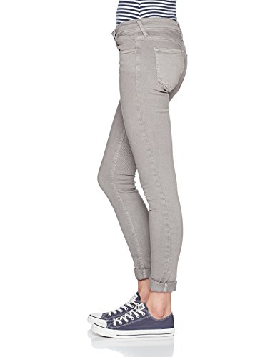 Replay Damen Skinny Jeans Luz Coin Zip Grau (Dove Grey 40)