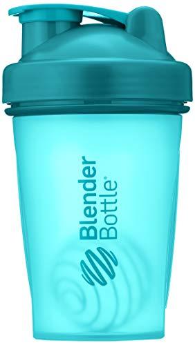 BlenderBottle Classic  Shaker | Eiweiß Shaker | Diät Shaker | Protein Shaker mit Blenderball 590ml - Teal