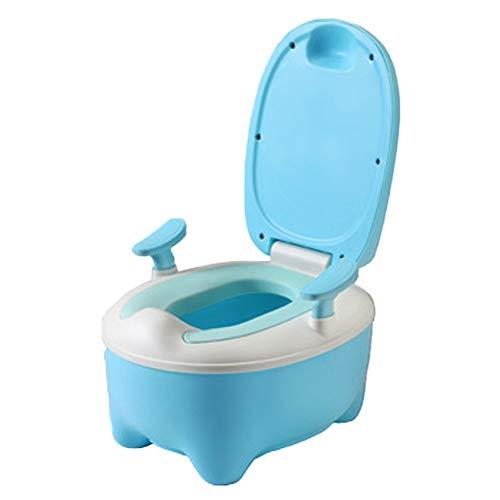 Baby Toilette TöpfchenTrainer Lerntöpfchen Baby Reise Töpfchen Set Tragbarer Faltbarer Potty Trainer für Kinder,Blue