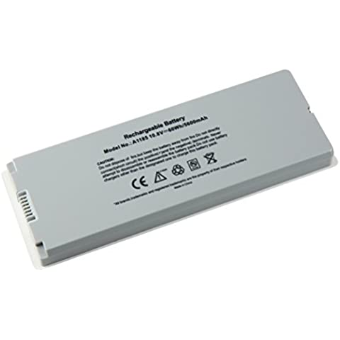 5600mAh Notebook portátil recambio de batería para Apple MacBook 13