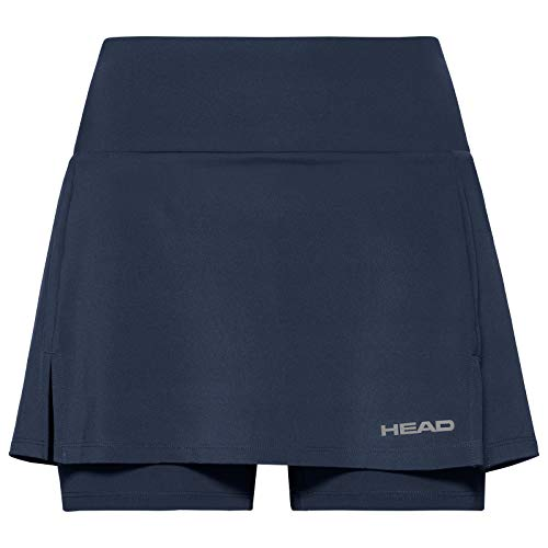 HEAD Damen Club Basic Skort S dunkelblau