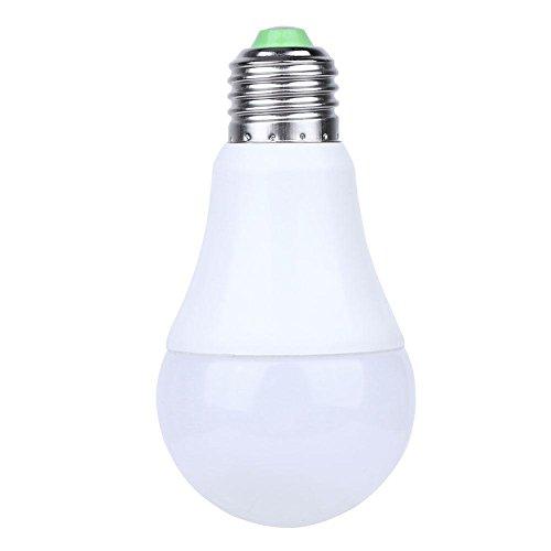 Preisvergleich Produktbild Starnearby Nachtlicht mit Bewegungsmelder,  E27 7W Auto Sensor Lichtsteuerung LED Glühbirne Licht Sinn (kaltweiß)