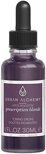 Urban Alchemy Opus Magnum Prescription Blonde haarverzorging met paarse pigmenten tegen geelheid