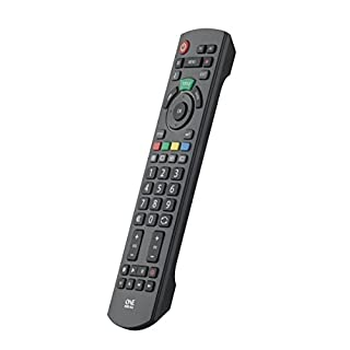 Panasonic TV-Ersatzfernbedienung von One For All - Funktioniert mit ALLEN Panasonic Fernsehgeräten - die ideale TV-Ersatzfernbedienung URC1914