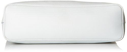 Armani Jeans Damen Großen Griff an der Oberseite Einkaufstasche Hellblau Hellblau