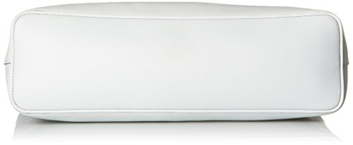 Armani Jeans Saffiano Grand Sac Fourre-tout Blanc White Leather