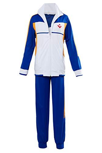 Karnestore Free Iwatobi Dive to The Future Hidaka Universität Nanase Haruka Schuluniform Sportkleidung Cosplay Kostüm Unisex XS