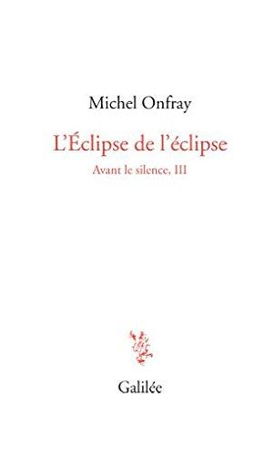 Avant le silence : Tome 3, L'éclipse de l'éclipse