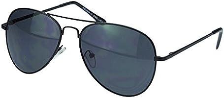Sense42 verspiegelte Pilotenbrille Black Edition mit schwarzem Rahmen Fliegerbrille Sonnenbrille Aviator Brille in verschiedenen Faben mit flexiblen Federscharnier Bügel im Brillenbeutel