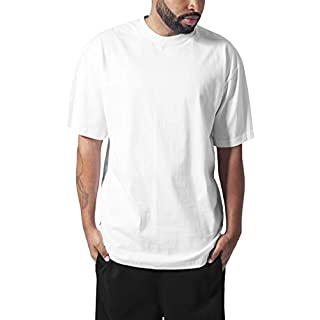 Urban Classics Herren T-Shirt Tall Tee, Farbe white, Größe XL