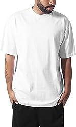 Urban Classics Herren T-Shirt Tall Tee, Farbe white, Größe 4XL