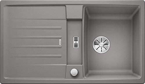 Blanco 524902 Lexa 45 S Küchenspüle, alumetallic, 45 cm Unterschrank