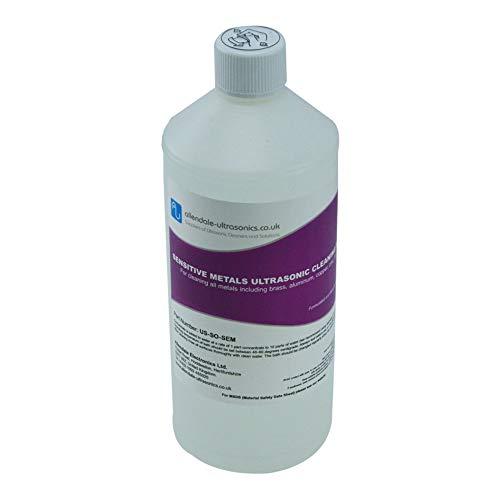 Empfindliche Ultraschall-Reiniger Lösung ideal für Messing, Kupfer, Aluminium–1Liter