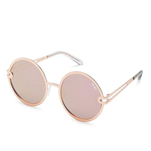 Quay Australia Damen Sonnenbrille OKIYO sunglasses gold rose