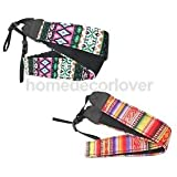 Alcoa Prime 2 Pcs Durable Soft Cotton Yard DSLR Shoulder Belt Strap For Digital Camera
