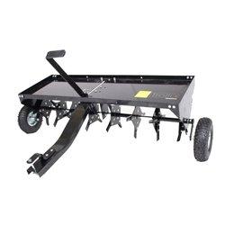 Anhänger für Rasentraktor Trolla Vertikutierer 120 cm zur Unterstützung der Sauerstoffversorgung des Bodens