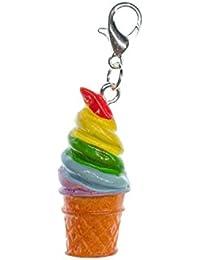 Ciondolo gelato zipper Pull Miniblings ciondolo per bracciale rigido colorato