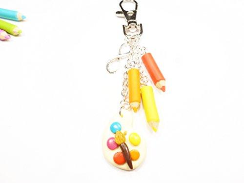porte-cles-pate-fimo-crayons-de-couleur-palette-de-peinture-cadeau-maitresse-atsem