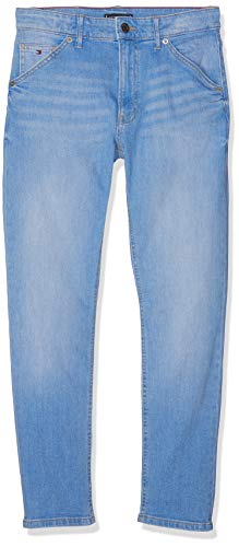 Tommy Hilfiger Jungen Carpenter Straight AVBBST Jeans Blau (Avenue Bright Blue Stretch 911) 140 (Herstellergröße: 10) Carpenter Denim Blue Jeans
