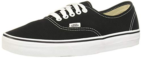 Vans AUTHENTIC, Unisex-Erwachsene Sneakers, Schwarz (Schwarz/Weiß), 44.5 EU (Authentic-california Vans)