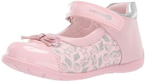 Geox b elthan g ballerine bambina rosa b821qcc0514 rosa 19 eu