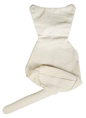 Rayher 38774000 Textil Türstopper Katze, 26x16x8 cm, m. Wackelaugen, SB-Btl 1 Stück -
