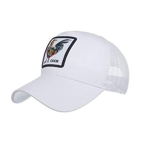 Imagen de ❤rytejfes  beisbol de casual pescador sombrero sombrero de sol visera plegable animal de bordado upf 50+ ajustable transpirable anti uv para aire libre viaje selva exterior