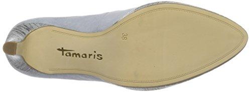 Tamaris 22428, Escarpins Femme Gris (Steel 211)