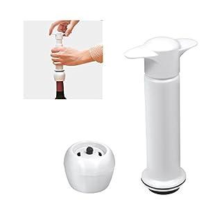 ANGOPE Wine Stopper and Vacuum Pump, Wine Conservative–Preserve Wine with Vacuum Pump + Stopper (2in 1)