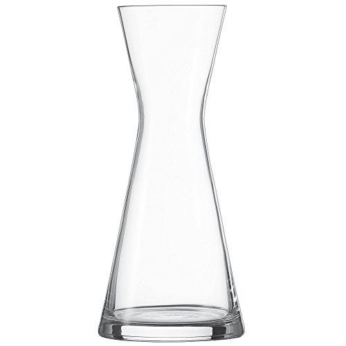 Schott Zwiesel 115156 Serie Pure Karaffe 500 ml, Kristallglas, Drop Protect