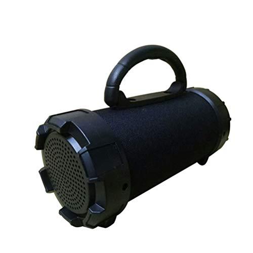 Healifty Drahtlose Bluetooth-Lautsprecher Subwoofer Stereo Sound Music Player TF-Karte unterstützen