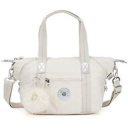 Kipling - Art Mini, Bolsos maletín Mujer, Blanco (Dazz White)
