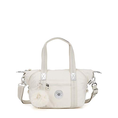 Kipling - Art Mini, Bolsos maletín Mujer, Blanco