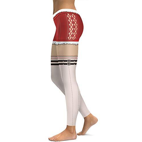 Yoga Pantalons De Femme Noël Femmes Leggings Impression 5qRWwxqTf