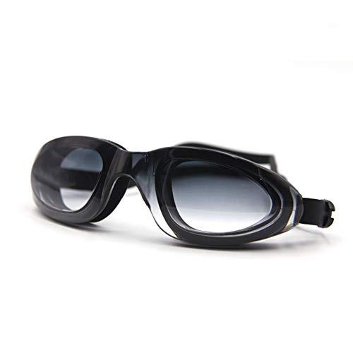Schwimmbrillen für Männer Frauen Mädchen HD Anti-Fog-Brille Outdoor-Brille Erwachsenenbrille schwarz Schwimmbrille mit Antibeschlag und UV Schutz -