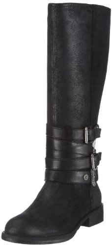JETTE Easy Living Flat Boot 63/12/04137, Damen, Stiefel, Schwarz (black 900), EU 38.5 (UK 5.5) (US 5.5)