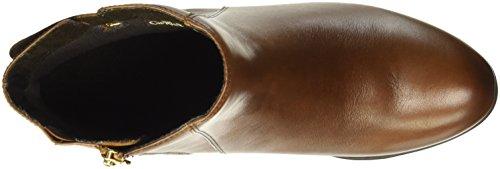 Caprice 25305, Bottes Courtes femme Marron (Cognac 305)