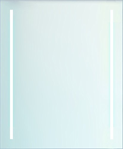 BATHSTAGE B-918 - Espejo led retroiluminado con posibilidad de colocación horizontal y vertical, 60 x 80 cm