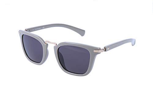 Calvin Klein Unisex-Erwachsene Jeans Sonnenbrille, Orange, 46